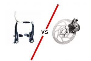 Дисковые VS V-brake