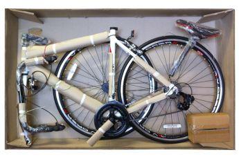 Собираем велосипед из коробки